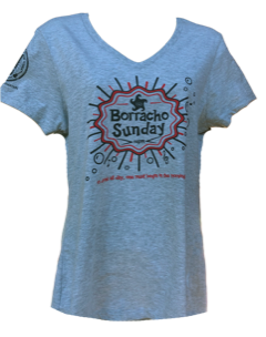 Borracho Sunday Tee - Ladies