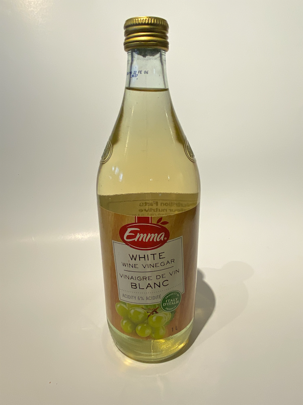 Vinegar, white wine: 6.00/1L
