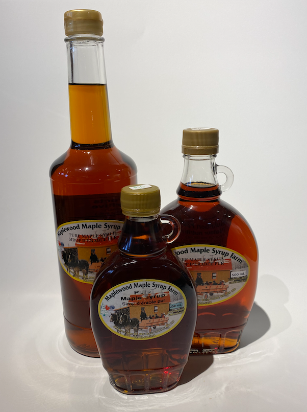 Maple Syrup $10, $15, $20