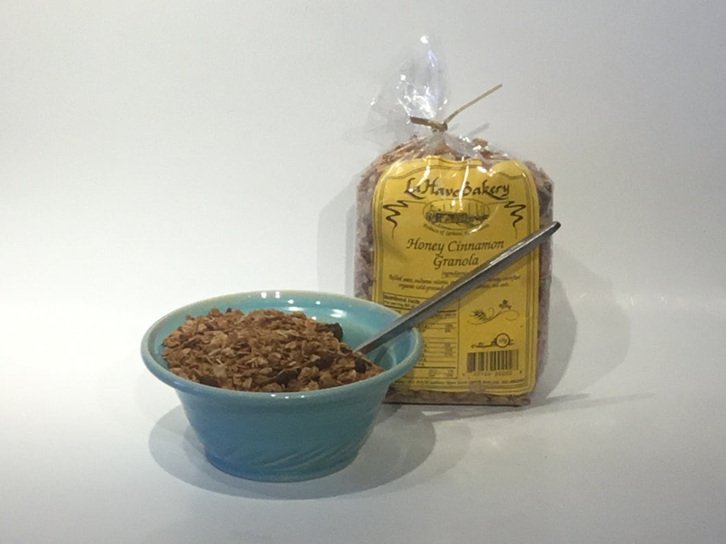 Honey & Cinnamon Granola