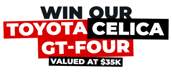 Win Our Toyota Celica GT-Four