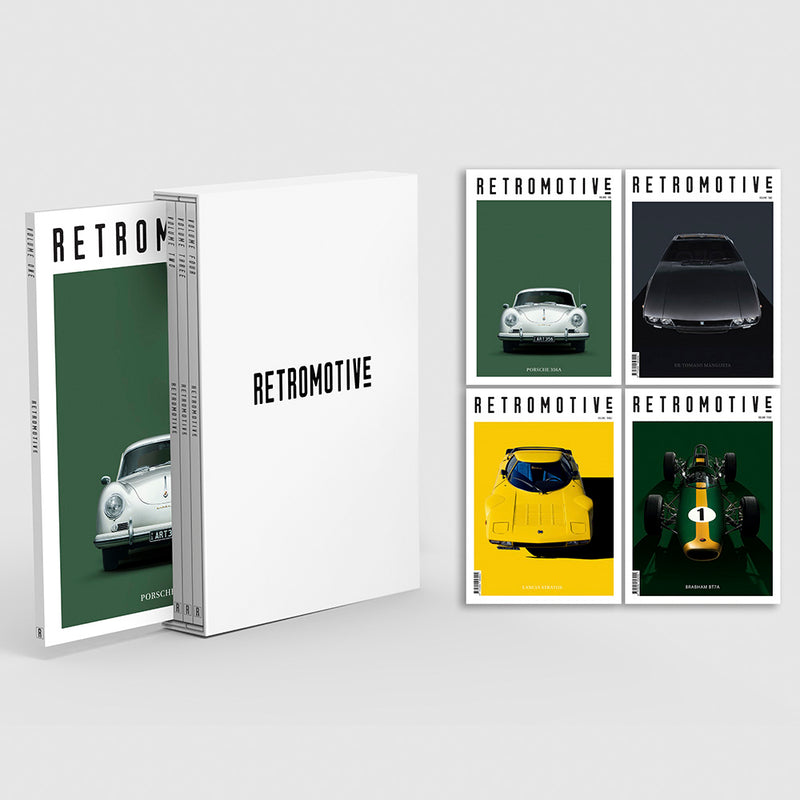 RETROMOTIVE BOXSET VOLUME 1-4