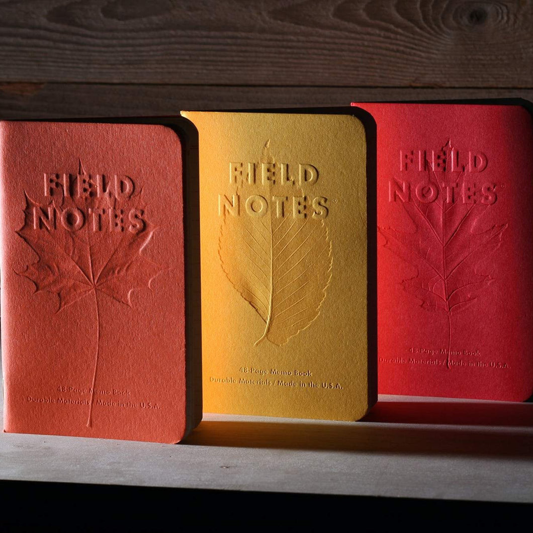 Autumn Trilogy Notebook | Limited Edition 3 Pack