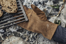Load image into Gallery viewer, Fire's Up Heat Resistant Gloves| Golden Tan Leather