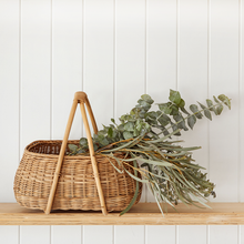 Load image into Gallery viewer, Mosey Rattan Basket