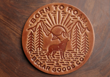 Load image into Gallery viewer, Handcrafted 'Born To Roam' Coasters