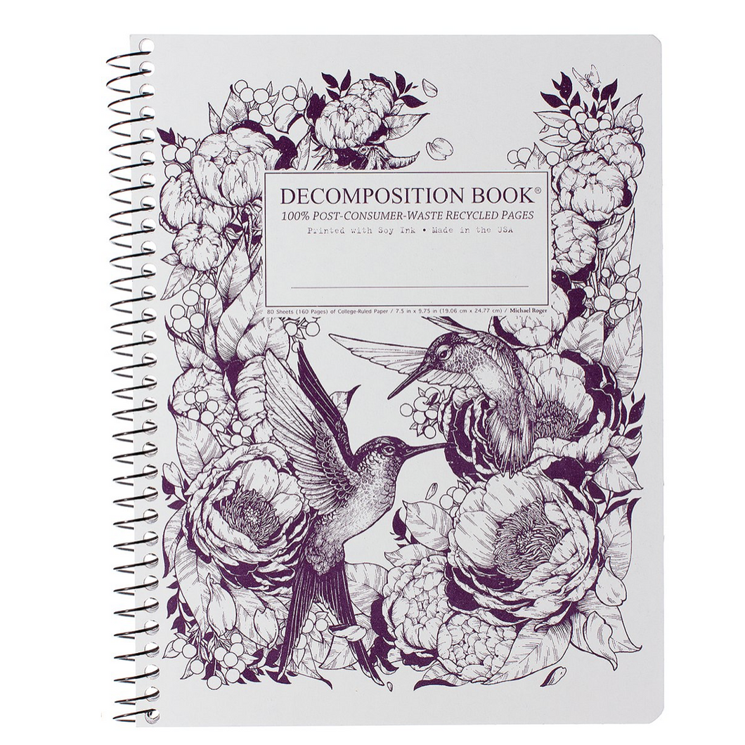 Hummingbirds Notebook