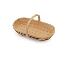 Load image into Gallery viewer, Natural Wooden Trug | Medium