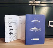 Load image into Gallery viewer, Fishing Log Notebook | 3 Pack