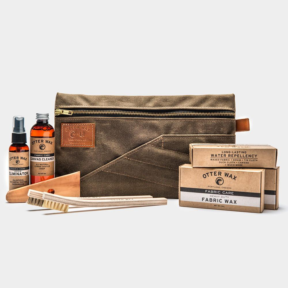 Waxed Fabric Care Kit I Otter Wax x Red Clouds