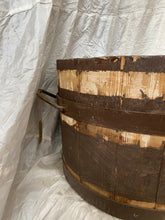 Load image into Gallery viewer, Vintage European Wooden Tub
