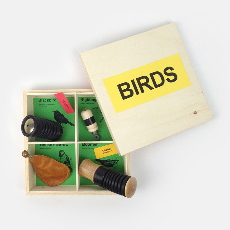 Bird Calls set of 4 'Manipulate'