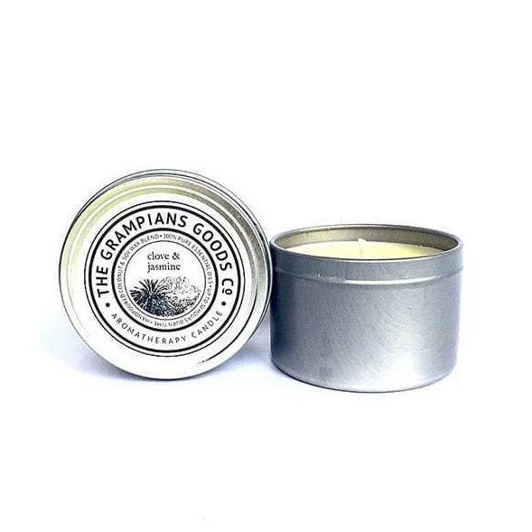 Clove Jasmine Travel Tin Candle