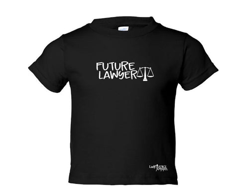 Lady Justice Apparel™ Future Lawyer Toddler T-shirt Design