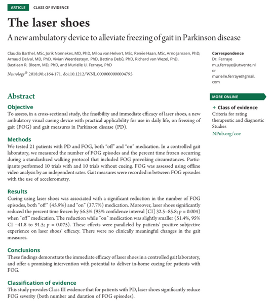 Preview of Article found in Neurology.
