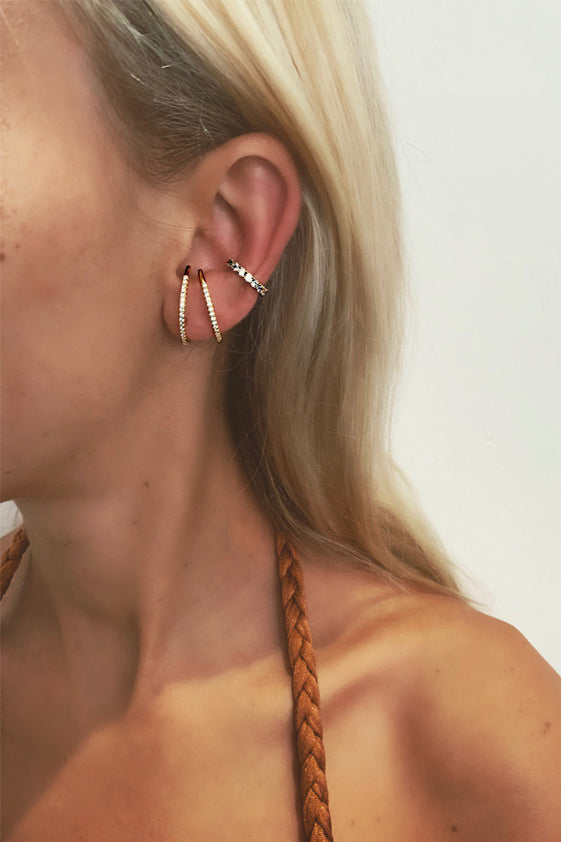 Sicily earrings gold