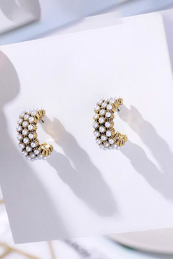 Sophia pearl earrings