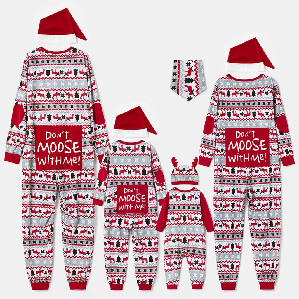 Don't Moose With Me Family Pajamas