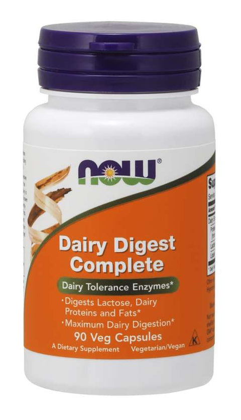 NOW Dairy Digest Complete 90caps