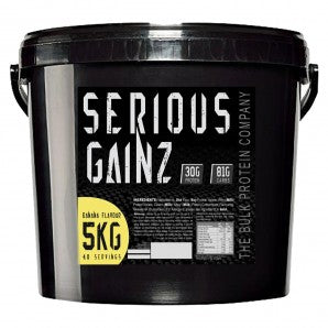 The Bulk Protein Company Serious Gainz 5000g