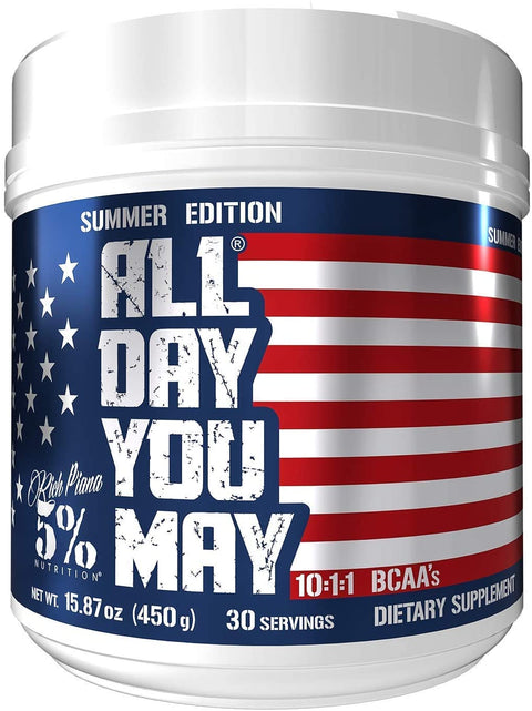 5% Nutrition All Day You May Summer edition  Starry Burst 450g