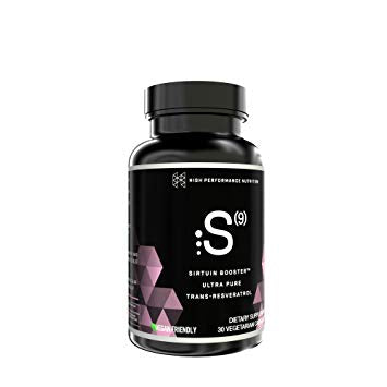 High Performance Nutrition S(9) Ultra Pure Resveratrol 30caps