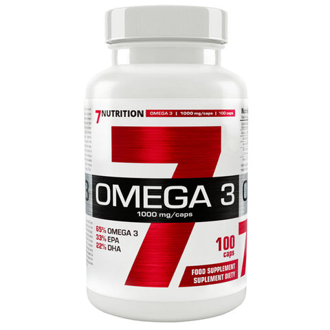 7Nutrition Omega 3 1000mg 100caps