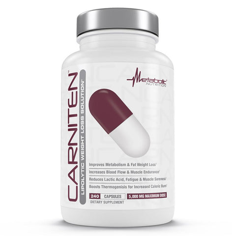 Metabolic Nutrition CarniTen 240caps