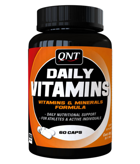 QNT Daily Vitamins 60Caps