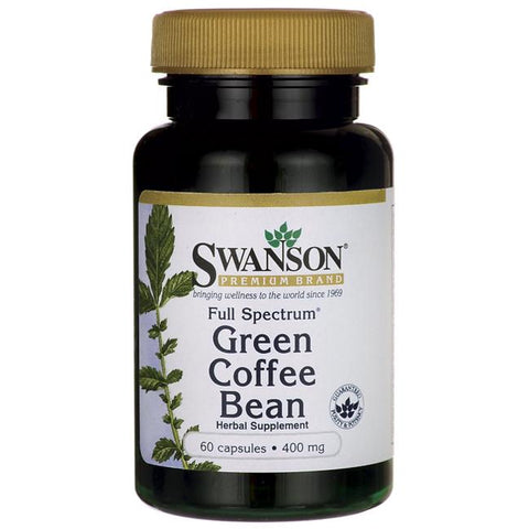Swanson Green Coffee Bean 60caps