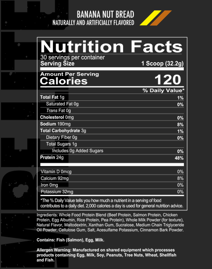 REDCON1 MRE LITE Animal Based Protein 30 servings