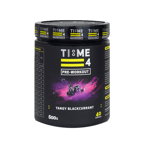 Time4Nutrition Pre-Workout 600g