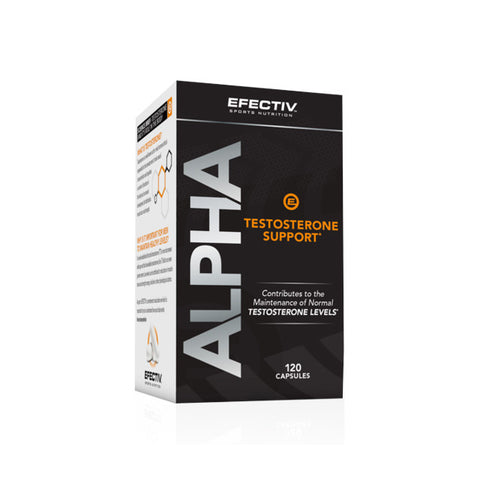 EFECTIV Alpha Testosterone Support 120ct