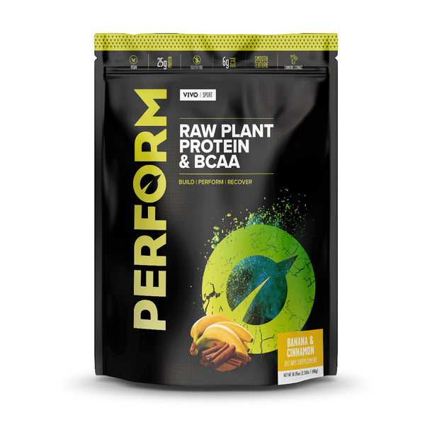 Vivo Life PERFORM Raw Plant Protein Powder & BCAA 910g
