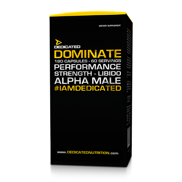 Dedicated Nutrition Dominate 180ct