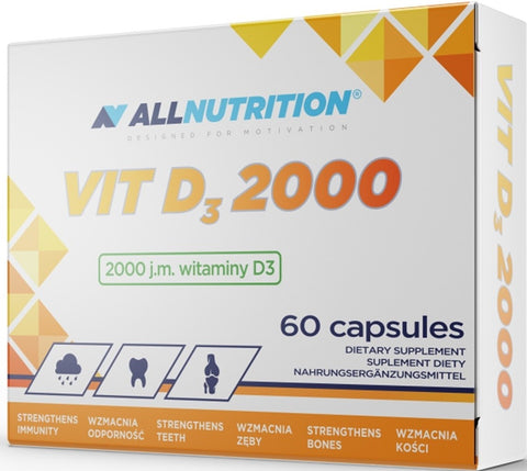 Allnutrition Vit D3 2000 60caps