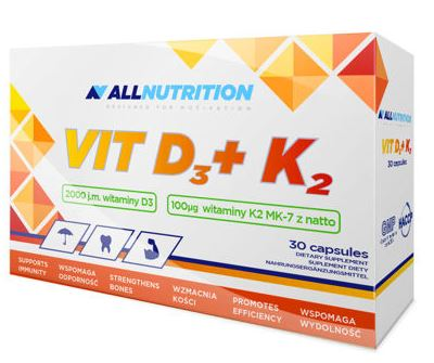 Allnutrition VIT D3+K2 30Caps