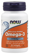 NOW Omega-3 30softgels
