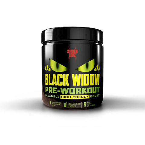 Spider Labz Black Widow Pre-Workout 300g