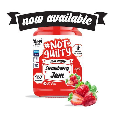 The Skinny Food Co Not Guilty Low Sugar Jam 260g