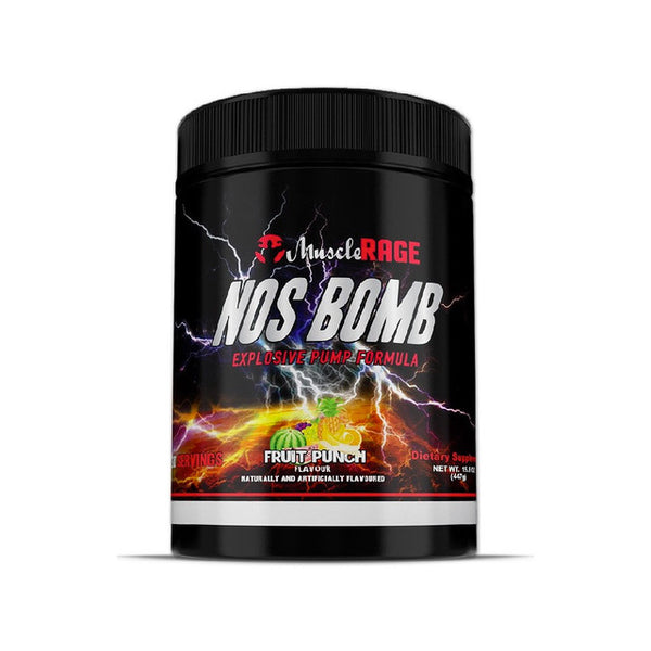 Muscle Rage NOS BOMB 30 servings