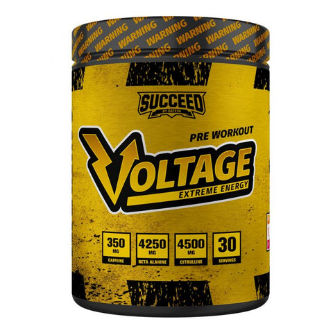 Succeed Voltage Extreme Pre Workout - 30 servings