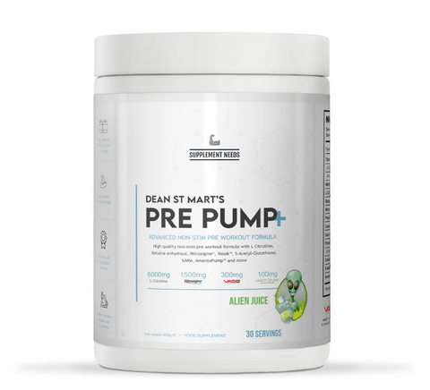 Supplement Needs Pre Pump+ 30 Servings