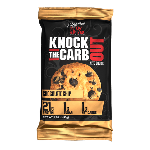 Rich Piana 5% Knock The Carb Out Keto Cookie 50g
