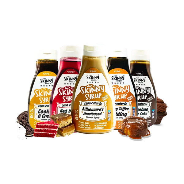 The Skinny Food Co Zero Calories Syrups 425ml