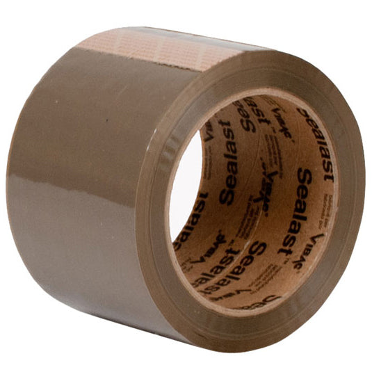 Tan Carton Sealing Tape 110 yds. Hot Melt