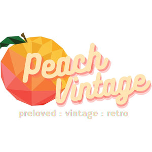 Peach Vintage Clothing