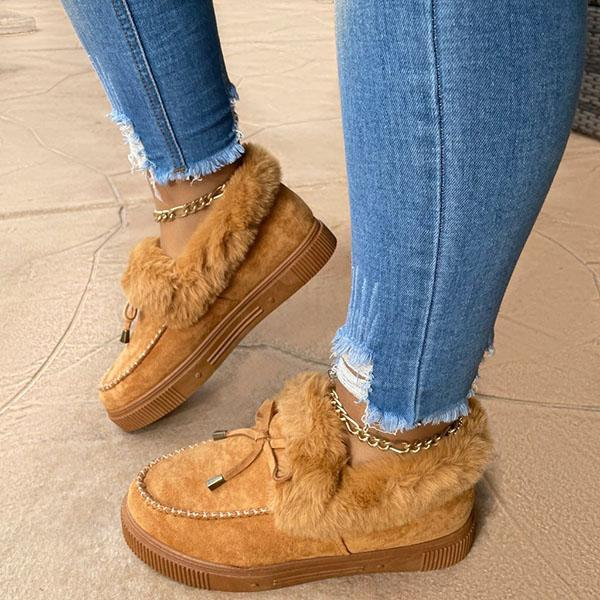 Women Casual Fashion Flat Moccasins