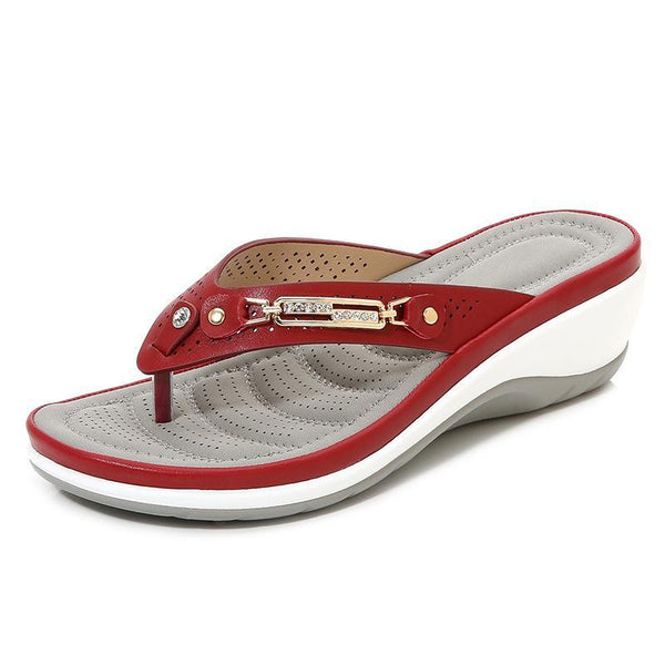 Women Soft Arched Sole Comfortable Casual Slippers