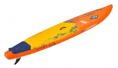 Aquatone Flame Touring 11'6 ISUP - inkl. paddle, pumpe, taske, leash og finne.
